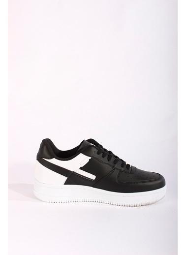 Rodrigo Erkek Beyaz Sneaker Ayakkabı Siyah